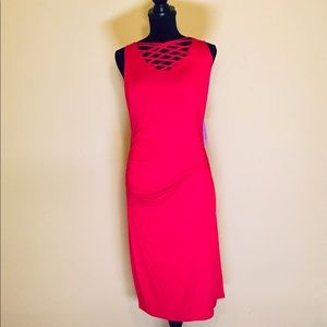 🔥NWT🔥 Sleeveless Red Dress by JustFab